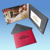 China High End Business Gift 4.3 Inch Christmas Video Greeting Cards With Artwork Printing on sale