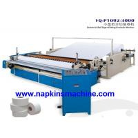 Quality Custom Printed Toilet Paper Roll Cutting Machine With Embossing System for sale