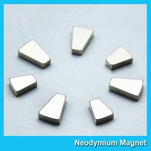 Quality Custom Trapezoid Industrial Neodymium Magnets N35 N38 N42 N48 N50 N52 Grade for sale