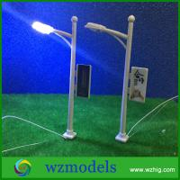 Quality scale LED Street Garden Park Single Head Lights Lamppost Model Layout N Scale 1/200 for sale