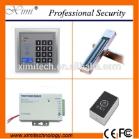 Quality Cheap door access control including magnetic lock, touch exit switch,power supply110-240V good quality access control kit for sale