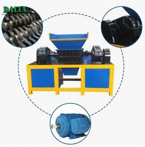 Quality Single Shaft PP PE PVC Industrial Plastic Shredder 100 - 2000kg/h For Pipes / Film for sale