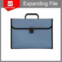 Buy office supplies A4 plastic portfolio business holder PP pocket file folder with at wholesale prices