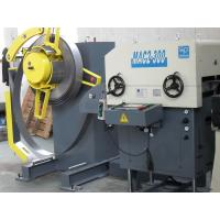 China Left And Right Offset Feeder Decoiler And Straightener Metal Wafer Stamping on sale