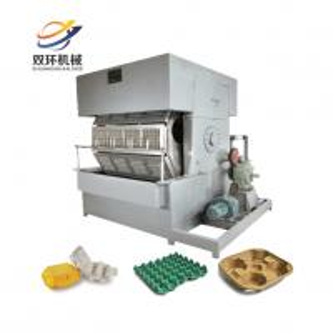 China Paper egg tray / egg carton / egg box making machine price on sale