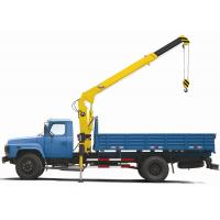 Quality XCMG Telescoping 3.2 Ton SQ3.2SK1Q Truck Mounted Crane With 7m Lifting Height for sale