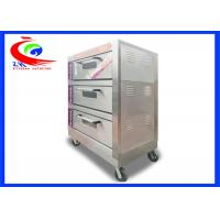 Quality Commercial Bakery Oven / Bread Oven Electric with 3 layers 6 pans for sale
