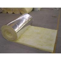 Quality Supply fire insulation aluminum foil veneer glass wool blanket for sale