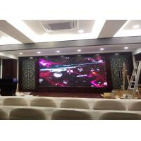 Quality P2 Indoor Full Color Led Display Screen 1R1G1B Pixel Configuration Brightness 900-1200 for sale