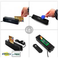 China MCR160 USB 4-IN- 1 Credit Card Reader EMV/IC Chip/ Magnetic/ RFID/ PSAM Card on sale