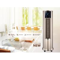 Quality LowNoise Warm Air Conditioner , Hot Air Vertical Fan Heater With LCD Touch Switch for sale