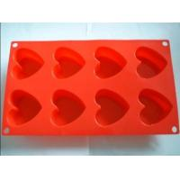 Quality Colorful Multi Shape Silicone Mold For Chocolate / Cookie / Cake Silicone Kitchenware for sale