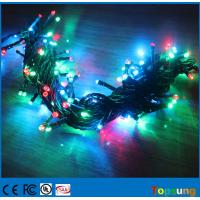 Quality 200 led twinkle rgb led string ip65 with controller for outdoor christmas decoration for sale