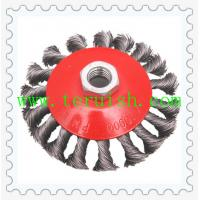 Twist Knotted Screw & Plate Wire Wheel Brushes TRT05