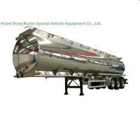 Quality Aluminum Alloy Fuel Tank Semi Trailer 45000L ~50000L With Air Bag Suspension for sale