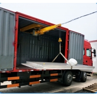 Quality WXD Cantilever micro crane used in cargo truck for sale