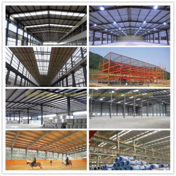 prefabricated warehouse hangar workshop building light steel structure