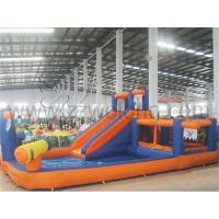 Quality inflatable combo obstacle courses,inflatable obstacle course combo,inflatable combo slide obstacle for sale
