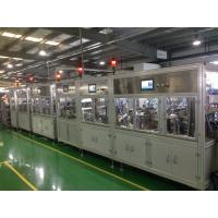 Auto Parts Assembly Machine , Hose Clamp Manufacturing Assembly Line Equipment