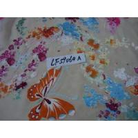 China Floral Print Silk Fabric on sale