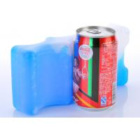 Quality Promotional Portable Reusable Cold Gel Packs HDPE Plasitc For Lunch Box for sale