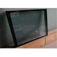 Quality Fine Polished Edge Low E Glass Size / Thickness Customized For Curtain Wall for sale