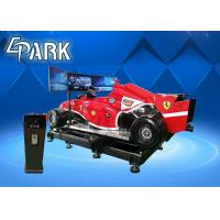 Quality 5KW Virtual Reality Simulation Ride , VR Car Driving Racing Game for sale