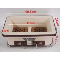 Quality Household Hibachi Ceramic BBQ Grill Porcelain Enameled Outdoor Use SGS for sale
