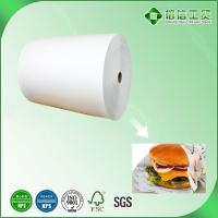 Quality greaseproof paper for burger wrapping for sale