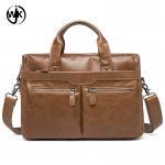 Quality China online shopping men hand leather bag trendy men laptop bag leather soft durable leather messenger bag men for sale
