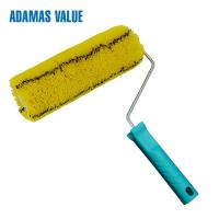 Quality Easy Paint Paint Rollers For Smooth Finish Yellow With Black Stripe for sale
