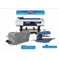 China Digital Inkjet 60cm CMYKW Sublimation Fabric Printing Machine on sale