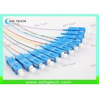 Quality SC/upc Fiber Optic Pigtail 0.9mm For Fiber Optic Patch Panel for sale