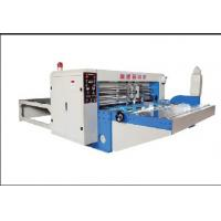 China Corrugated cardboard automatic single knife type touch line machine factory on sale