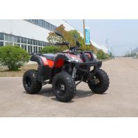 Quality Red Off Road CVT 150CC ATV Hydraulic Brake On Forest Road , Chain Drive for sale