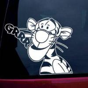 Quality Disney Car Window Sticker/Decal (Vinyl Adhesive Cut) for sale