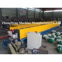 Quality Metal Down Pipe Roll Forming Machine CNC Tube Bender With Elbow Machine ISO / CE for sale