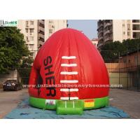 Quality AFL Australian Football Inflatable Bouncy Castles For Kids Outdoor Parties for sale