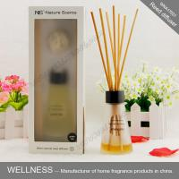 Luxury reed diffuser with clear conical bottle, rigid high-end gift box
