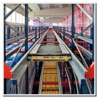 Quality Heavy Duty High Density Pallet Racking System Steel Q235 Material ISO9001 for sale
