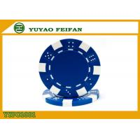 Quality OEM Printable Plastic ABS Poker Chips GSV Certification Customised Poker Chips for sale