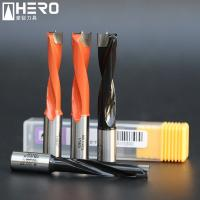 Quality Carbide Step Brad Point Drill Bits , Wood Boring Drill Bits High Wear Resistance for sale