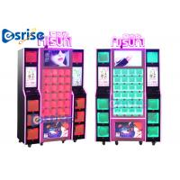 Quality Respective Lighting Lipstick Vending Machine Fully Transparent Display Reasonable Grid for sale