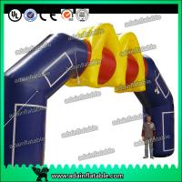 Quality Pop Advertising Inflatable Arches Outdoor Events Inflatable Entrance Arch for sale