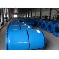 Quality Colorful Prepainted Steel Coil 600 ~ 1250mm Width For Construction / Buildings for sale