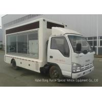 Quality ISUZU Mobile LED Billboard Truck With Scrolling Light Box For Sales Promotion AD for sale