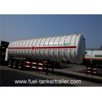 Quality 0 . 6mpa Working Pressure Cryogenic Lng Tank Transportation Trailer for sale