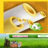 Quality glass wool pipe for sale