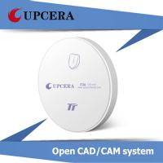 Quality TT White Dental Zirconia Blocks Pre Sintered Zirconial for Zirkonzahn CAD / CAM System for sale