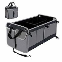 China 26 Inch Car Trunk Organizer Bag For SUV Truck With Bottom Strips To Prevent Sliding on sale